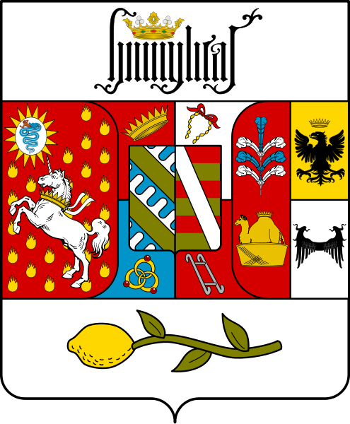 Coat of arms of the House of Borromeo.png